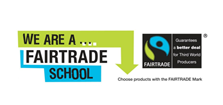 We are a Fairtrade school logo