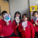 We retold the poem of the owl and the pussycat using puppets