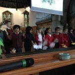 Reception sang Under the Harvest Moon