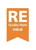 RE Quality Mark Gold logo