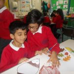For our RE work we used different crafts to think about Harvest Festival