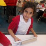 In Maths we practiced measuring different objects