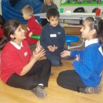 Speaking and listening games to get to know each other.
