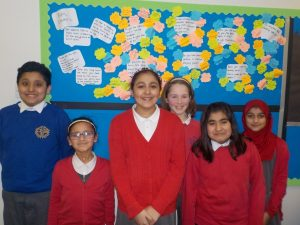 Pupil council and Fairtrade Team