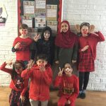 School Council organised our Comic Relief day